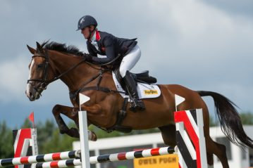 Nicola Wilson (GBR) riding One Two Many